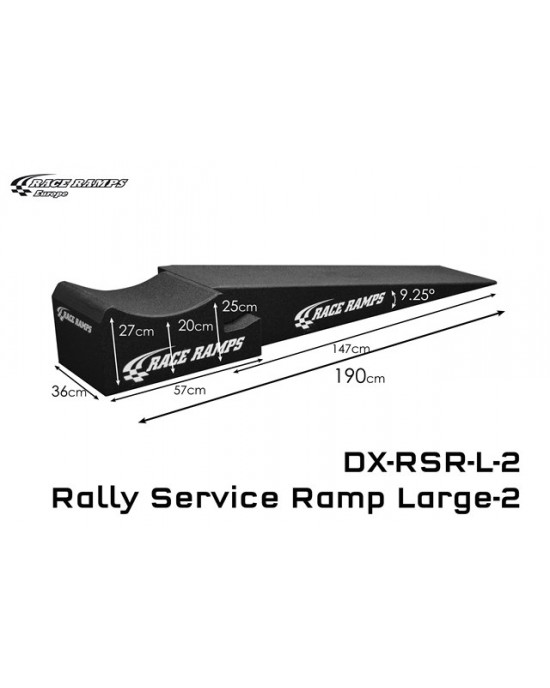 Rally Service Ramp L 4Pcs
