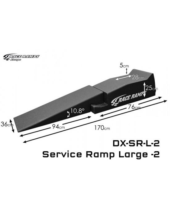 Service Ramp L 4pcs