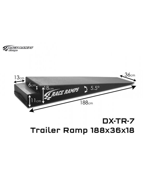 Trailer Ramp 188x36x18 2st