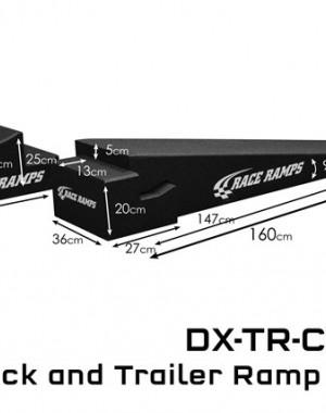 Trailer Ramp 160x36x25 4st