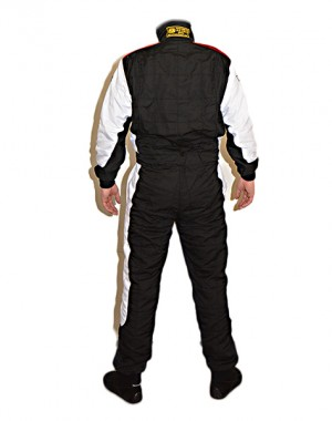 Toorace FIA GP Racing Suit Black/White