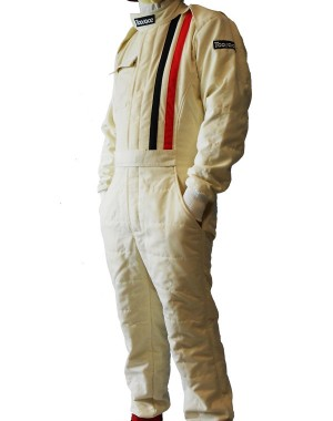 Toorace TRS3 Vintage FIA Racing Overall Creme