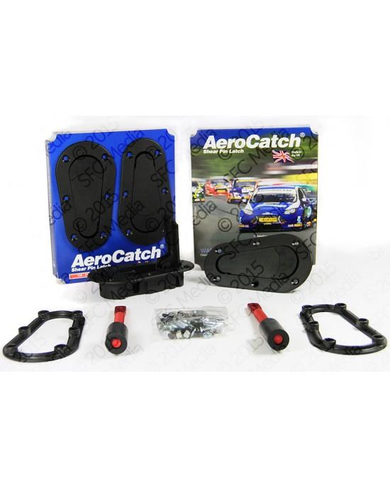 AeroCatch hood lock