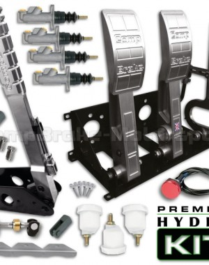 Premier Floor Mounted Hydro Kit – Universal Hydraulic Pedal Box & 300mm Handbrake Kit