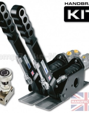 300mm Dual Vertical Hydraulic Handbrake Kit – 2-Handle 2-Cylinder [Kit A]