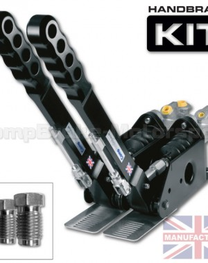 300mm Dual Vertical Hydraulic Handbrake Kit – 2-Handle 2-Cylinder [Kit D]