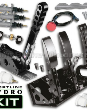 Sportline Floor Mounted Hydro Kit – Universal Hydraulic Pedal Box & 300mm Handbrake Kit