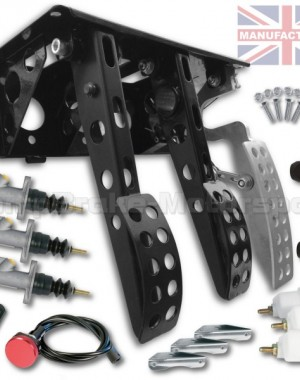 Sportline Top Mounted Hydro Kit – Universal Hydraulic Pedal Box & 300mm Handbrake Kit