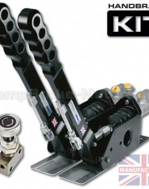 300mm Dual Vertical Hydraulic Handbrake Kit – 2-Handle 2-Cylinder [Kit A]