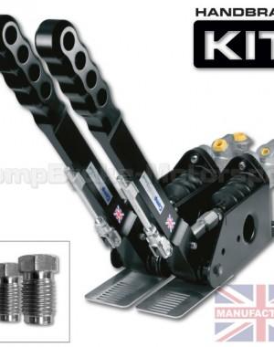 300mm Dual Vertical Hydraulic Handbrake Kit – 2-Handle 2-Cylinder [Kit D]