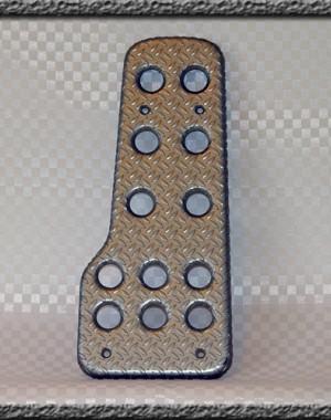 Fotstöd Aluminium Titanelox.
