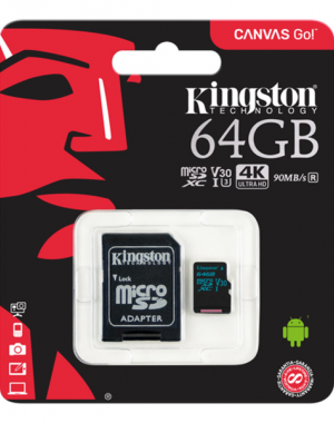 Memorycard Kingston 64 GB