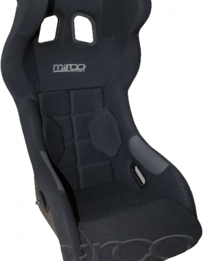 Mirco RS1 FIA Racing Seat Svart