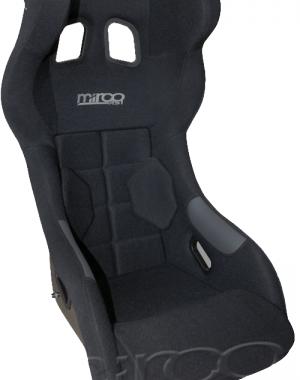 Mirco RS1 FIA Racing Seat Svart