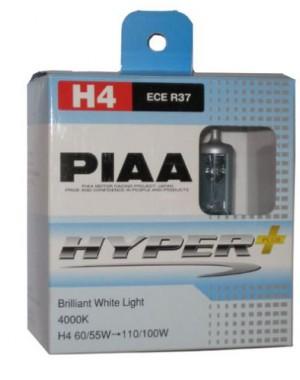PIAA Hyper+ H4 Par 4000K 12V