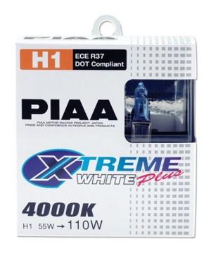 PIAA Xtreme White + H1 55W=110W Par 4000K 12V