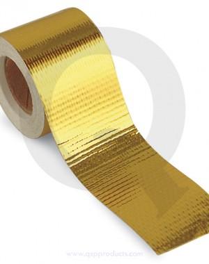 Heatshield tape, 10m/roll - Gold