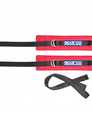 Sparco armstraps red