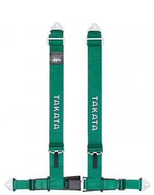 Takata Drift III 4P Green Snap/Snap