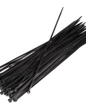 Black Fixing Straps 140x3.6mm 100pcs